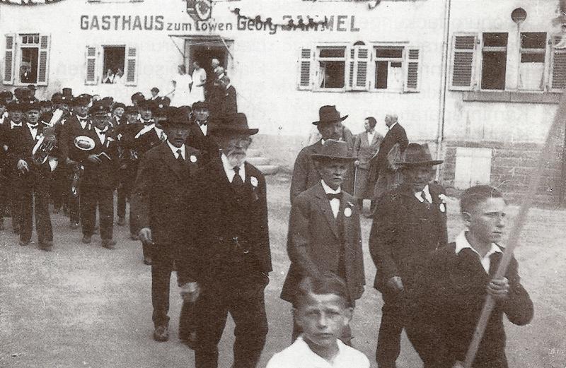Musikverein Uhlbach 1935