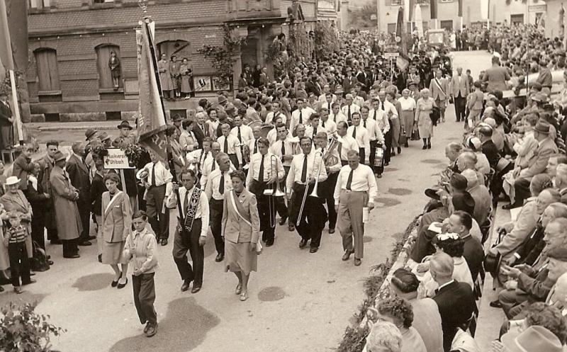Bundesmusikfest Aalen 1954