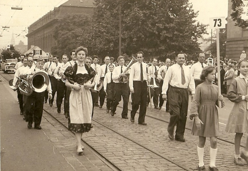 Volksfestumzug 1955