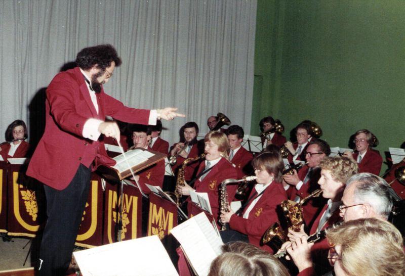 Weihnachtsfeier MVU 1984