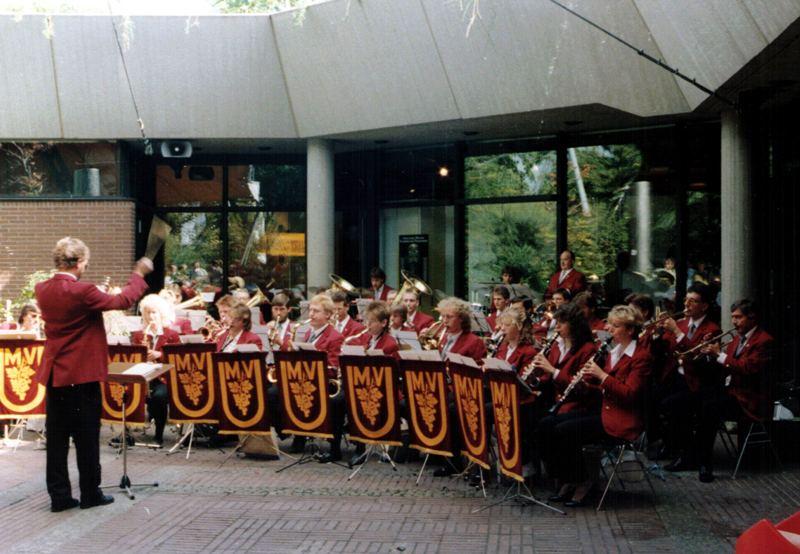 Konzert im Landespavillon 1987