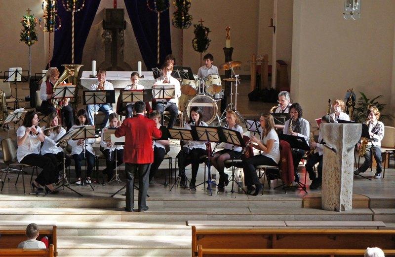 Kirchenkonzert MVU Jugendkapelle 2011