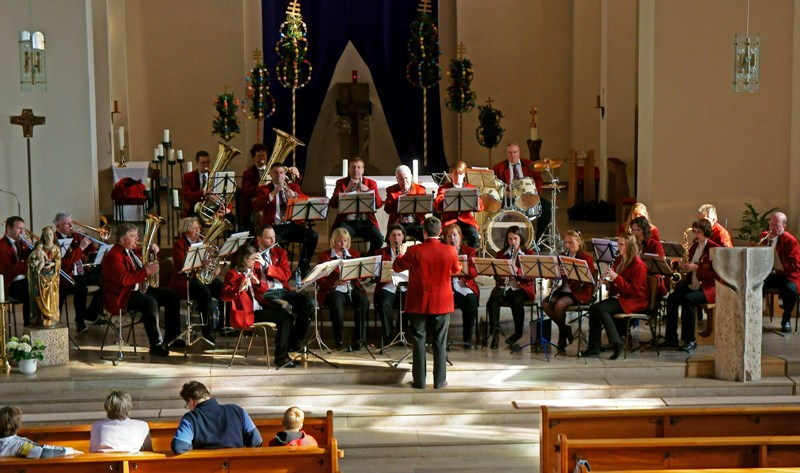 Kirchenkonzert MVU Stammkapelle 2011