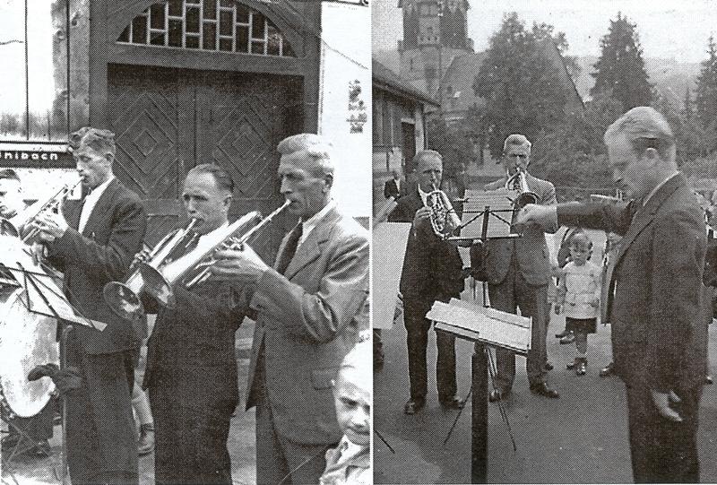 Dirigent Franz Springer 1950