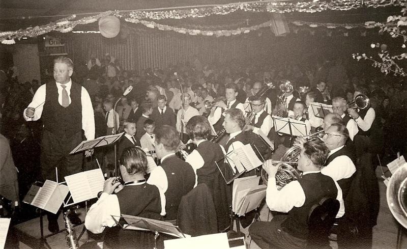 Uhlbacher Herbst 1960 mit Dirigent Nolte