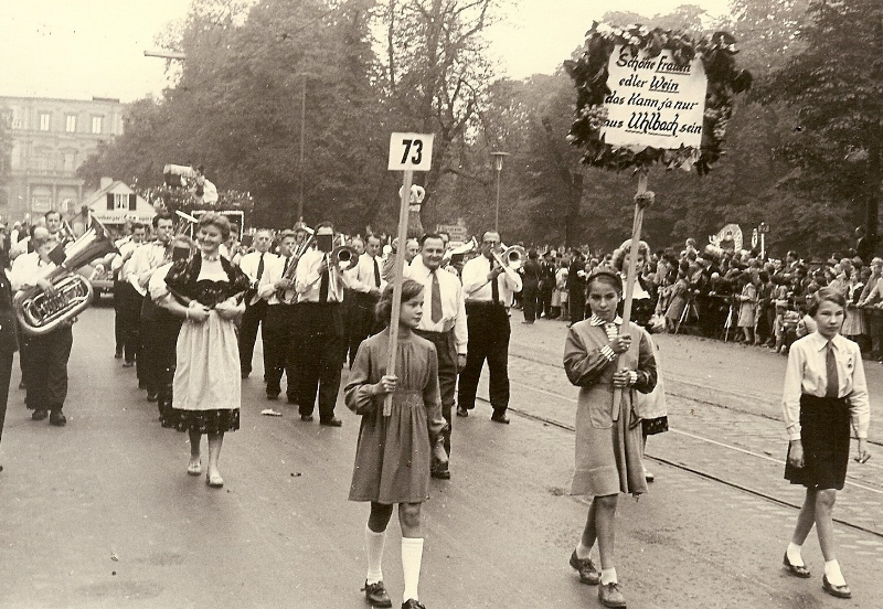 Volksfestumzug 1964