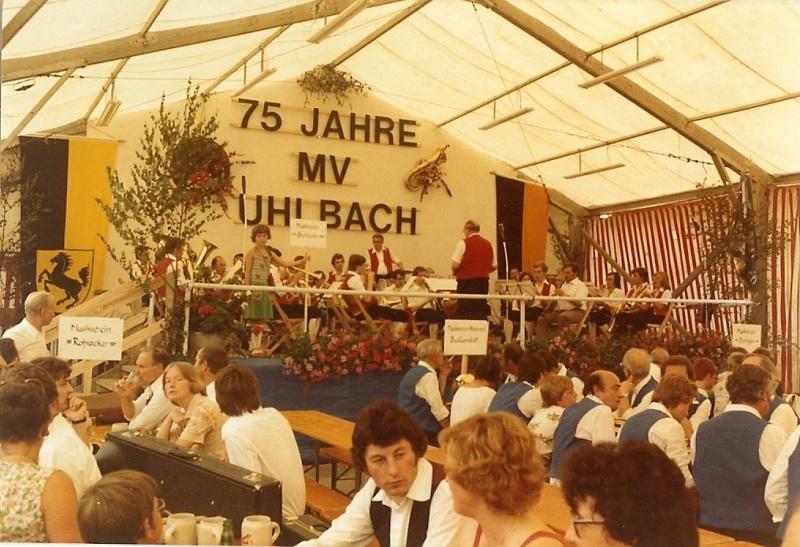 75-jähriges Jubiläum MVU 1978