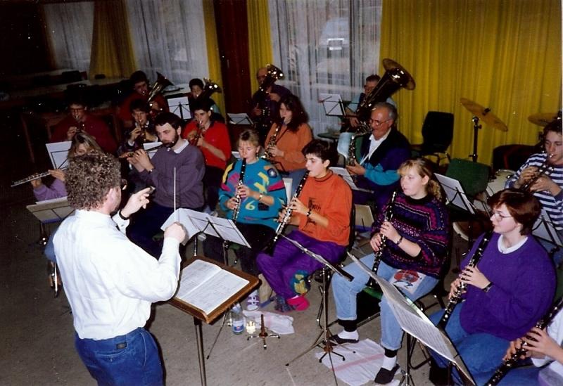 Übungswochenende MVU 1991