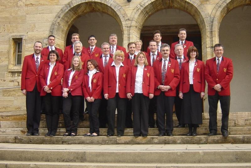Kirchenkonzert MVU 2009 mit Dirigent Eberle